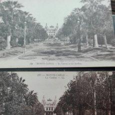 Postales: DOS ANCIANAS POSTALES DE MONTECARLO EL CASINO. Lote 119029331