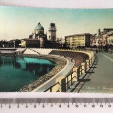 Postales: POSTAL. VERONA. CHIESA S. GIORGIO. VERA FOTOGRAFÍA. H. 1960?. Lote 119075763