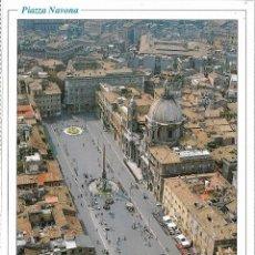 Postais: ITALIA, IL FASCINO DI ROMA, PIAZZA NAVONA - EDI CART F 139 - S/C - (16,5X11,5). Lote 119076503