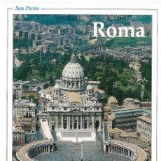Postales: ITALIA, IL FASCINO DI ROMA, SAN PIETRO - EDI CART F 109 - S/C - (16,5X11,5). Lote 119076611