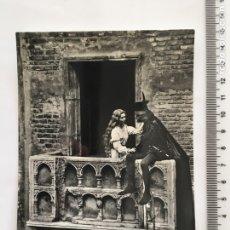 Postales: POSTAL. VERONA. GIULIETTA E ROMEO. VERA FOTOGRAFÍA. H. 1960?. Lote 119076624
