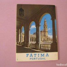 Postales: BLOCK DE POSTALES DE PORTUGAL. FATIMA. 10 POSTALES. . Lote 119390487