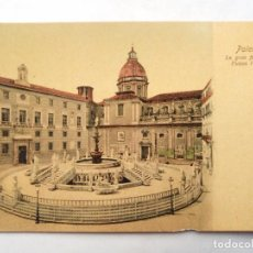 Postales: TARJETA POSTAL ITALIA - PALERMO,LA GRAN FONTANA IN PIAZZA PRETORIA. DITTA ODDO. CARTOLINA POSTALE. . Lote 119501347
