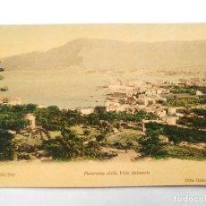 Postales: TARJETA POSTAL ITALIA - PALERMO, PANORAMA DALLA VILLA BELMONTE. DITTA ODDO. CARTOLINA POSTALE.. Lote 119501431