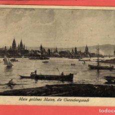 Postales: 5285 ALEMANIA DEUTSCHLAND ALLEMAGNE GERMANY MEIN GOLDNES MAINZ DIE GUTENBERGSTADT 1959. Lote 119743143