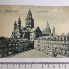 Postales: POSTAL. MAINZ AM RHEIN. H. 1920?. Lote 119744535