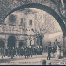 Postales: POSTAL PORTUGAL - COIMBRA - ESTUDANTES DO LYCEU - CIRCULADA. Lote 119866799