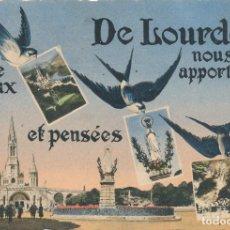 Postales: POSTAL FRANCIA FRANCE LOURDES . Lote 120003407