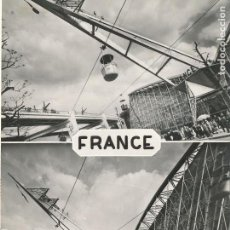 Postales: POSTAL FRANCIA FRANCE LA PAVILLON DE LA FRANCE EXPOSITION UNIVERSELLE BRUXELLES 58. Lote 120003567