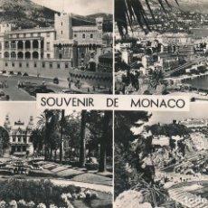 Postales: POSTAL FRANCIA FRANCE SOUVENIR DE MONACO GILLETTA. Lote 120003615