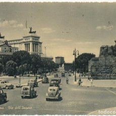 Postales: POSTAL ROMA ITALIA VIA DELL'IMPERO. Lote 120004239