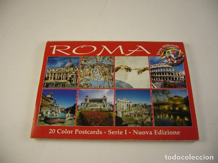 PACK DE POSTALES ROMA (Postales - Postales Extranjero - Europa)