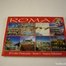 Postales: PACK DE POSTALES ROMA. Lote 120496171