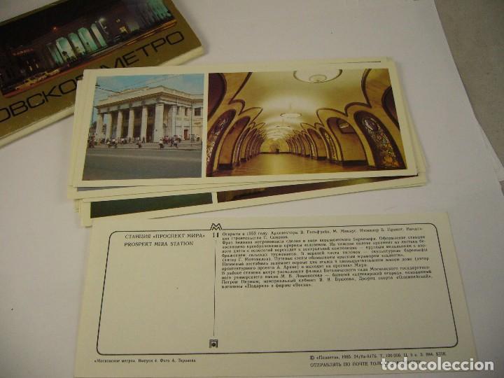 Postales: Pack de Postales Mockobckoe Metpo, Teh - Foto 12 - 120497143