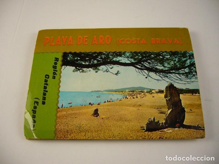 PACK DE POSTALES PLATJA DE ARO CONSTA BRAVA (Postales - Postales Extranjero - Europa)