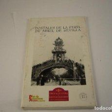 Postales: POSTALES DE LA FERIA DE ABRIL DE SEVILLA. Lote 120498215