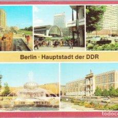 Postales: ALEMANIA - BERLIN - HAUPTSTADT DER DDR. Lote 120817543