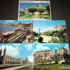 Postales: LOTE DE 5 POSTALES ANTIGUAS DE PORTUGAL. Lote 120897263