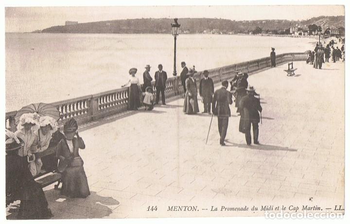 POSTAL MENTON Nº 144 FRANCIA (Postales - Postales Extranjero - Europa)