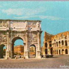 Postales: ITALIA - ROMA - ARCO DI CONSTANTINO - COLOSSEO. Lote 121036339