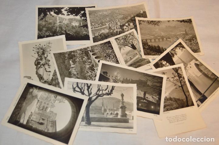 LOTE 11 POSTALES - SIN CIRCULAR - AÑOS 50 - ALEMANIA - PRECIOSAS - EN BLANCO Y NEGRO - LOTE 01 (Postales - Postales Extranjero - Europa)