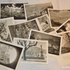 Postales: LOTE 11 POSTALES - SIN CIRCULAR - AÑOS 50 - ALEMANIA - PRECIOSAS - EN BLANCO Y NEGRO - LOTE 01. Lote 121064599