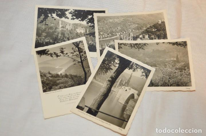 Postales: LOTE 11 POSTALES - SIN CIRCULAR - AÑOS 50 - ALEMANIA - PRECIOSAS - EN BLANCO Y NEGRO - LOTE 01 - Foto 2 - 121064599