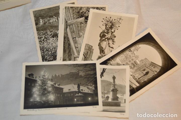 Postales: LOTE 11 POSTALES - SIN CIRCULAR - AÑOS 50 - ALEMANIA - PRECIOSAS - EN BLANCO Y NEGRO - LOTE 01 - Foto 3 - 121064599
