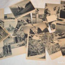 Postales: LOTE 18 POSTALES - SIN CIRCULAR - AÑOS 50 - ALEMANIA - PRECIOSAS - EN BLANCO Y NEGRO - LOTE 02. Lote 121064927