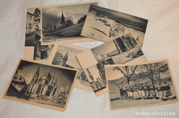 Postales: LOTE 18 POSTALES - SIN CIRCULAR - AÑOS 50 - ALEMANIA - PRECIOSAS - EN BLANCO Y NEGRO - LOTE 02 - Foto 2 - 121064927