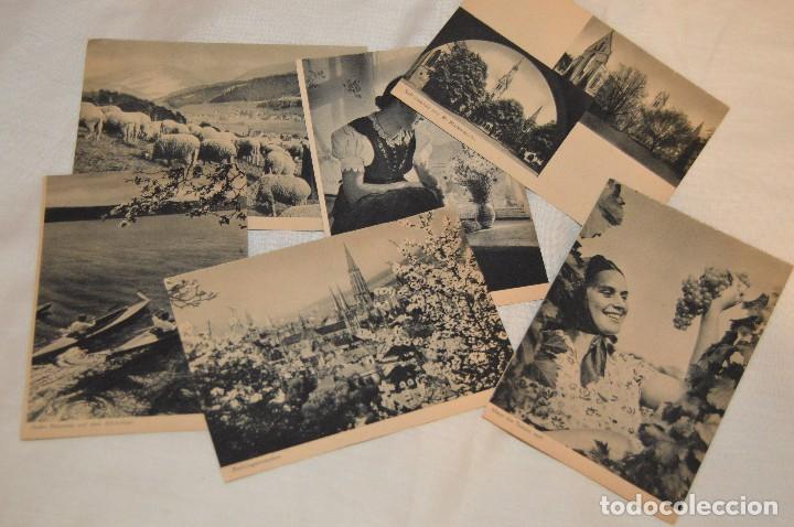 Postales: LOTE 18 POSTALES - SIN CIRCULAR - AÑOS 50 - ALEMANIA - PRECIOSAS - EN BLANCO Y NEGRO - LOTE 02 - Foto 3 - 121064927