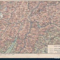 Postales: POSTAL TRENTINO - MAPPA - MAPA - ITALIA. Lote 121107927