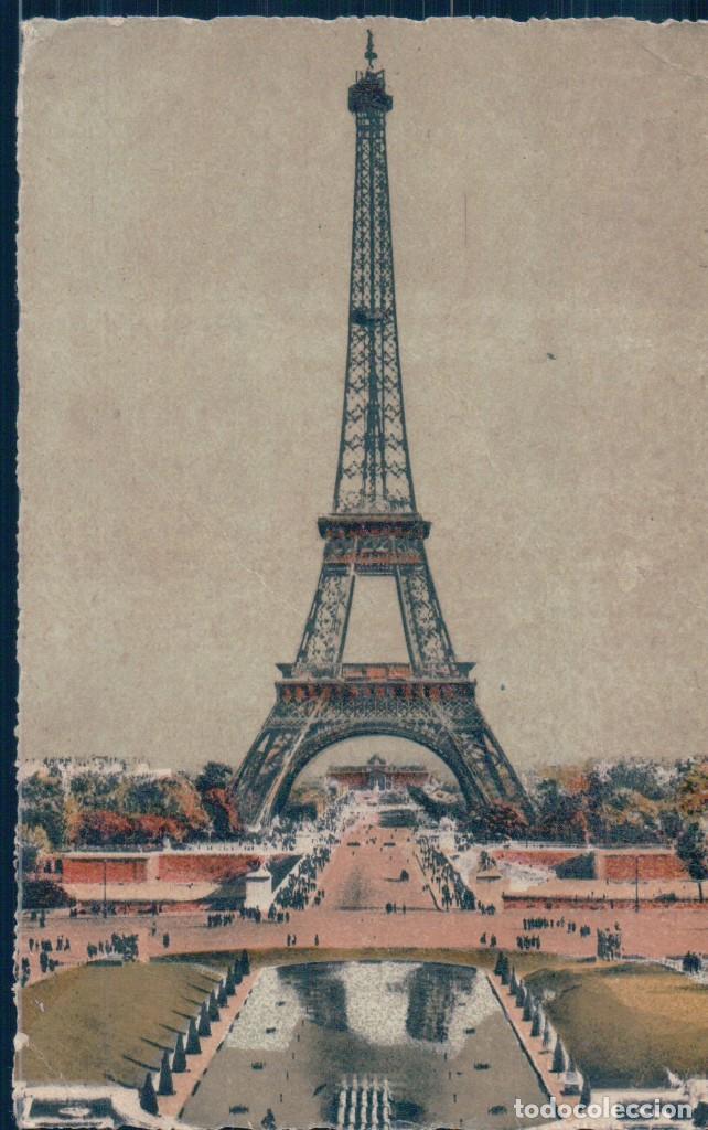 POSTAL PARIS ET SES MERVEILLES - LA TOUR EIFFEL VUE DU PALAIS DE CHAILLOT - FRANCIA (Postales - Postales Extranjero - Europa)