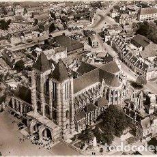 Postales: FRANCIA & CIRCULADO, NOYON, LA CATEDRAL, VISTA AÉREA, LILLE FRANCIA 1958 (5777). Lote 121538171