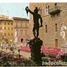 Postales: ITALIA & CIRCULADO, FLORENCIA, FESTIVAL DE LAS FLORES, PIAZZA DELLA SIGNORIA, LISBOA 1980 (220). Lote 121544687