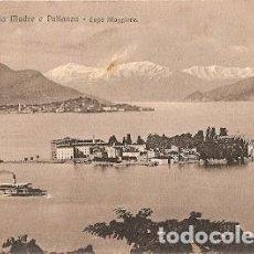 Postales: ITALIA & MADRE E PALLANZA, LAGO MAGGIORE, ISOLA BELLA TO DUBLIN IRLANDA 1911 (6769) . Lote 121547567