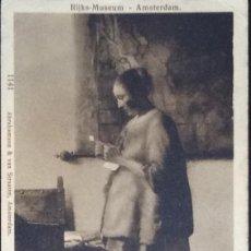 Postales: POSTAL DEL RIIJSK-MUSEUM DE AMSTERDAM. YVERT 106. 1906.. Lote 121550899