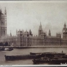 Postales: HOUSES OF PARLIAMENT LONDRES. YVERT 140. 1934.. Lote 121551615