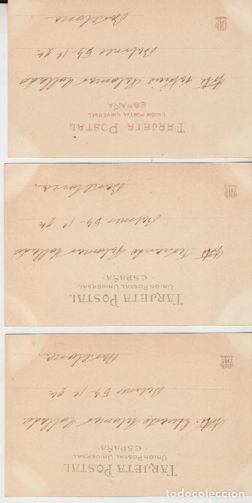 Postales: LOT 3 POSTALS REPUBLICA ANDORRA CLAVEROL CANILLO ENCAMP COSELL VALL NO PARTIDA 29-30-31 HAUSER - Foto 2 - 122120595