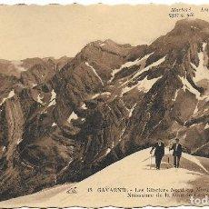 Postales: GAVARNIE, LES GLACIERS NORD DU MARBORÉ - CIE.ALSACIENNE DES ARTS PHOTOMÉCANIQUES - S/C. Lote 122203827