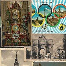 Postales: 90 POSTALES * ALEMANIA ( MUNICH-DUSSELDORF-FRANKFURT- KOLN ,ETC )* LOTE Nº 157. Lote 123849123