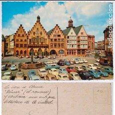 Postales: POSTAL FRANKFURT MAIN RÖMER ALEMANIA. Lote 124407335