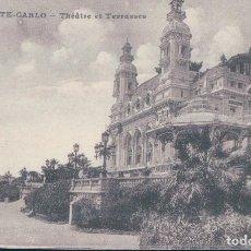 Postales - POSTAL MONACO - MONTE CARLO - THEATRE ET TERRASES - EDITION GILETTA - 708 - 124511163