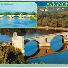 Postales: FRANCIA - AVIGNON - LE PONT ST BENEZET. Lote 125190103