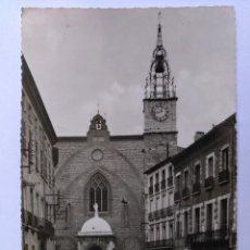 Postales: POSTAL PERPIGNAN CATEDRAL DE ST JEAN EDICIONES PAGES. CIRCULADA 1958. Lote 125287907