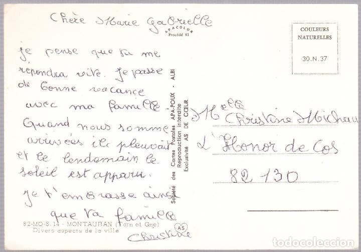 Postales: FRANCIA - MONTAUBAN - Foto 2 - 125418295