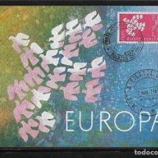 Postales: POSTAL ITALIA 1962 I MUESTRA FILATELICA EUROPEA TARJETA MAXIMA. Lote 125942699