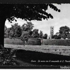 Postales: POSTAL ITALIA 1962 TARJETA POSTAL DE LUCCA CON DESTINO A COLOMBIA. Lote 125942815