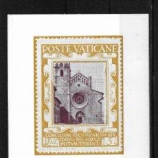 Postales: TARJETA VATICANO 1963 TARJETA POSTAL CON MATASELLO COMMEMORATIVO . Lote 125943967