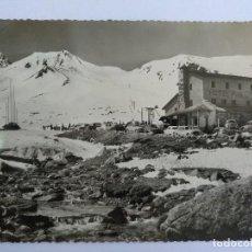Postales: VALLS D'ANDORRA PAS DE LA CASA HOTEL PIC BLANC FOTO APA CIRCULADA 1962. Lote 126341395